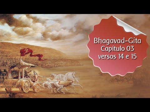 Bhagavad Gita - cap. 03 versos 14 e 15