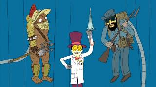 The Warden's Shape-Shifting (Superjail!)