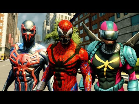 The Amazing Spider Man 2 - How to Unlock All Suits & Showcasing All Suits