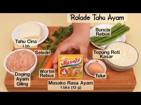 Dapur Umami - Rolade Tahu Ayam