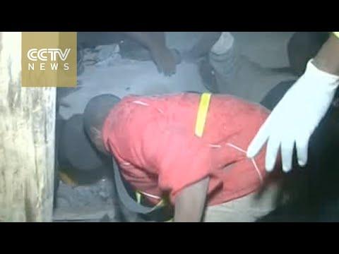 14 die in Kenya as heavy rains collapse building