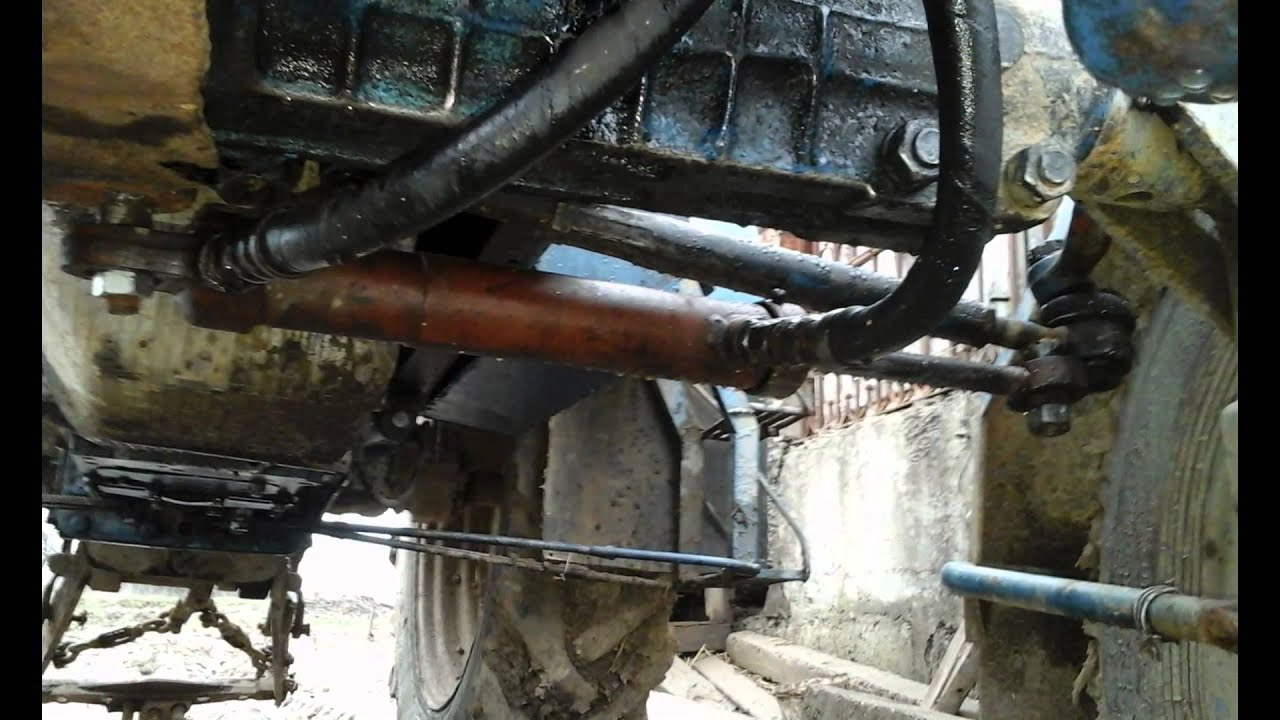 Мтз 80 переделка рулевой на цилиндр