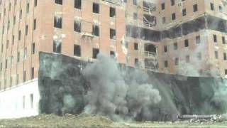 Implosion of Union Carbide Building 82 in South Charleston, WV