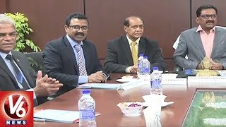 Delegates From Public Services Commission Of Mauritius Visits TSPSC Office | Hyderabad