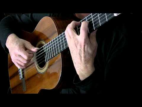 0 Gavotte en Rondeau   Michael Chapdelaine    Video (classical guitar) Bach