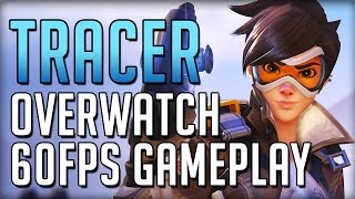Tracer Causing Trouble - Overwatch 60FPS Ultra Settings Gameplay