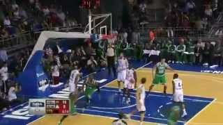 Rondo to Pierce for the One-Handed Slam Dunk | Boston Celtics Vs Fenerbahce Ulker | 5 October 2012