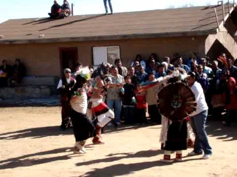 Hopi Buffalo Dance 1/17/10 part 1