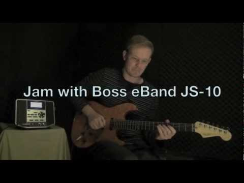 Jam With Boss EBand JS-10 Part 1 Of 3 Featuring Simon Kinny-Lewis