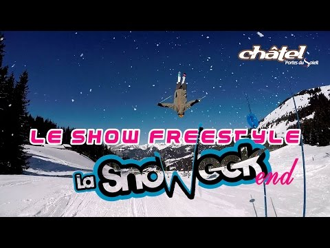Snoweek end 2015: le Show Freestyle !