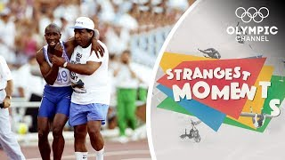The Story of Derek Redmond's Iconic Olympic Moment   Strangest Moments