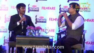 Dhanush Launches The Filmfare Magazine Cover