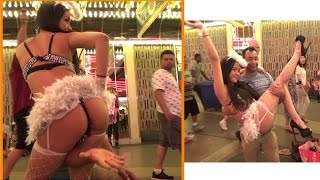 One  Hot Sexy Night at Fremont St !!
