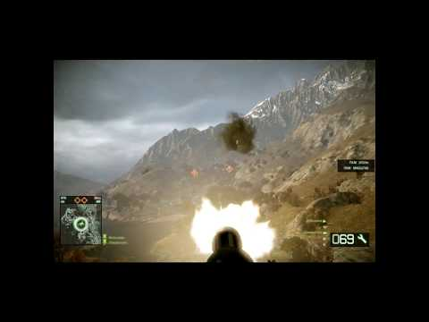 Battlefiled Bad Company 2 Black Hawk Movie Video