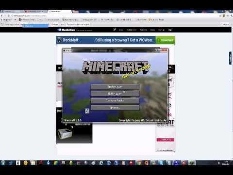 Tuto Comment cracker minecraft très rapidement et facilement