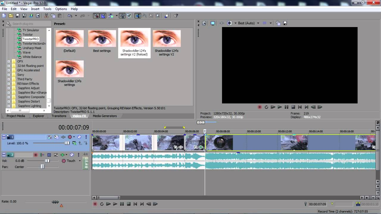 how to cut audio in sony vegas