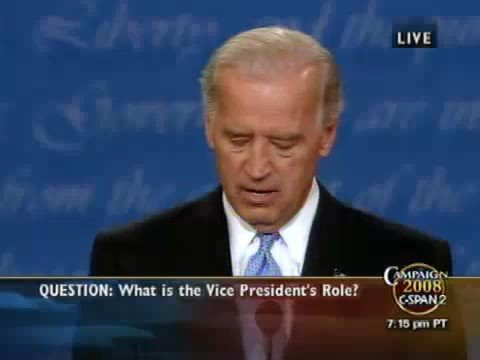Vice Presidential Debate 2008 HQ (Part 9/11) 10/02 Palin Biden Debate 2008 - Sarah Palin Joe Biden VP Debate Thursday October 2nd at Washington University in St Louis MO in HIGH QUALITY (Part 9/11) Video