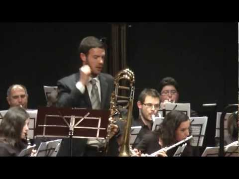 Canticles, Concert for bass trombone and wind orchestra (J. De Meij) part. II