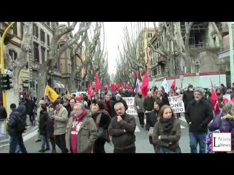 #DallaParteGiusta - Atene chiama - Roma 14 febbraio 2015 La manifestazione