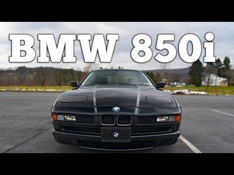1991 BMW 850i V12: Regular Car Reviews