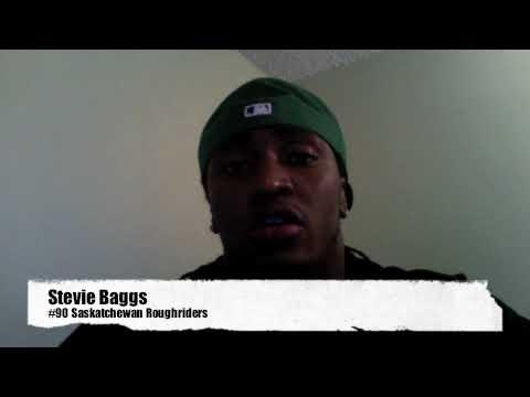 Saskatchewan Roughriders Stevie Baggs - Athlete Video Blog #1 - November 11, 2009