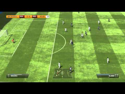 Fifa 13 nvel Lendrio ( Real x Boca )