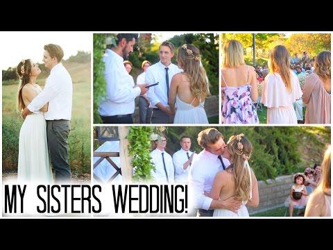 ♡ My Sister's Wedding Through My Eyes=)
