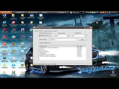 Tutorial-Ps2 Como Instalar Varios Juegos Al Usb (Pendrive2013)