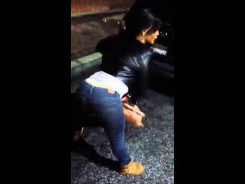 Katrina Ebony  James Khan & Danny Khan Twerking After Alist video