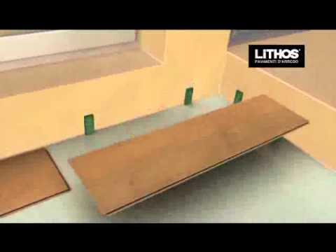 Posa dei pavimenti laminati flottanti e istruzioni youtube - Pavimento laminato ikea ...