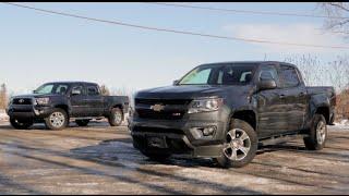 2015 Chevrolet Colorado vs 2015 Toyota Tacoma