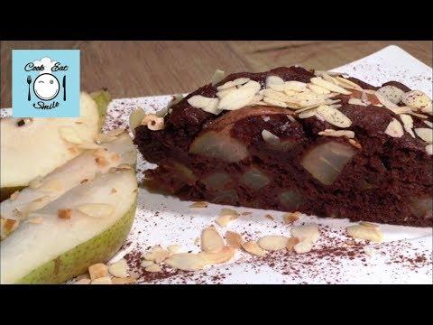Шоколадный пирог с грушами. Грушевый пирог