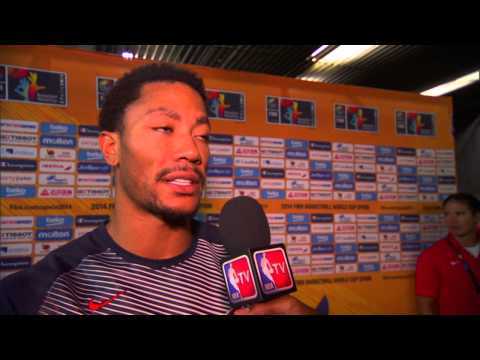 Derrick Rose on Team USA's Win over New Zealand