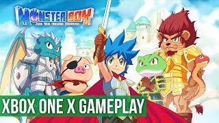 Monster Boy and the Cursed Kingdom ► Xbox One X Gameplay / Preview
