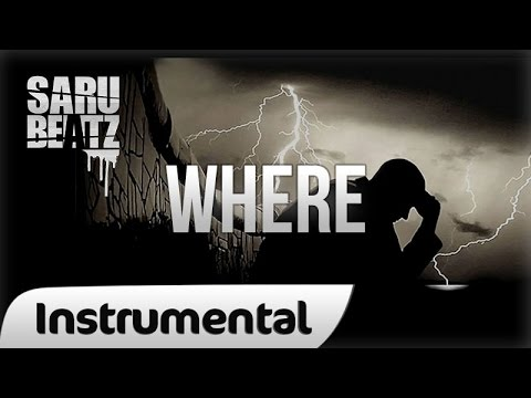 Sarubeatz - Where [hq] Emotional Sad Deep Beat Rap Instrumental video