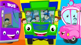 Wheels On The Bus Go Round And Round Nursery Rhyme Kids Tv