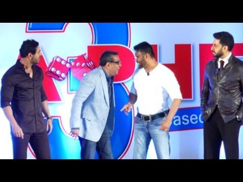 Abhishek Bachchan, John Abraham, Sunil Shetty, Paresh Rawal in Hera Pheri 3