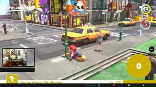 Super Mario Odyssey (Switch) Jumprope Lameplay