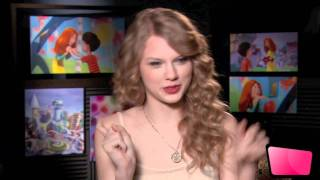 Taylor Swift The Lorax Interview [HD]