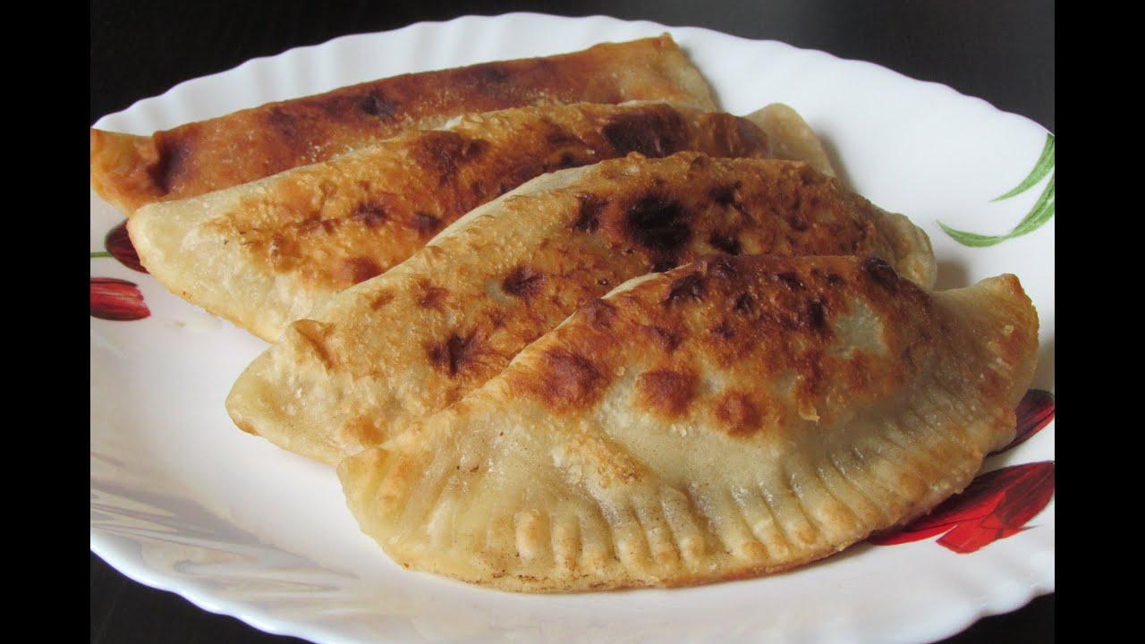 Вкусные чебуреки рецепт пошаговый на сковороде