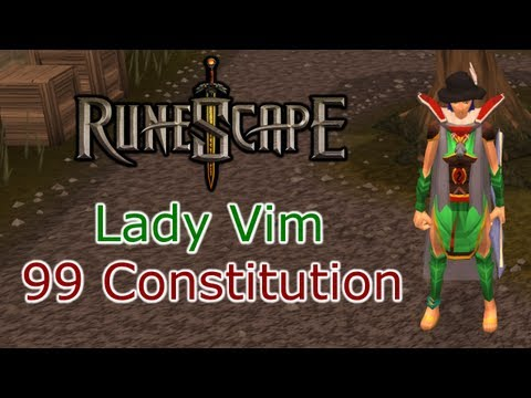 RuneScape  –  Lady Vim  –  99 Constitution Achievement