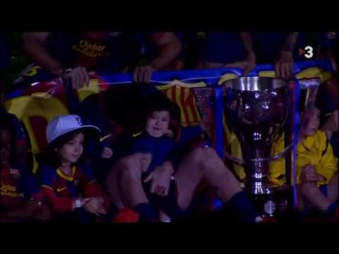 Video Leo Messi i Thiago Messi - (Leo Messi with his son Thiago) 19-5-2013