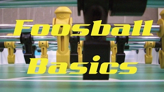 Road To Pro: Step 1- Basic Foosball Drills