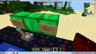 minecraft  как сделать батут без мода 1. 2 .5