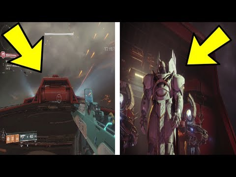 WHAT HAPPENS IF WE GLITCH TO GHAUL'S PLATFORM? (Destiny 2)