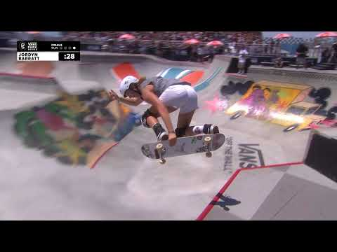 2nd Place - Jordyn Barratt (USA) 86.93 | Huntington Beach, USA | 2018 Women's Vans Park Series