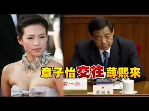 The Bo Xilai - Zhang Ziyi Prostitution Scandal