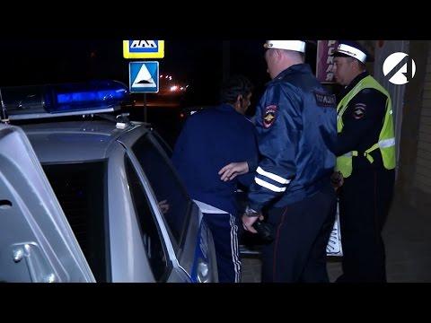 Как в Астрахани ловили пьяных водителей