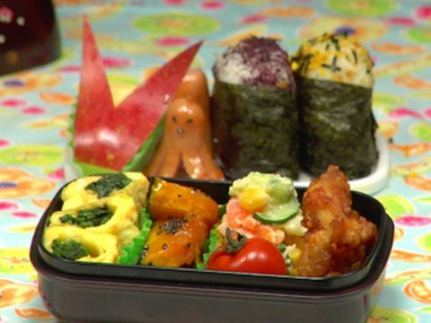 How to Make Bento Lunch Box &#12362;&#24321;&#24403;&#12398;&#20316;&#12426;&#26041;