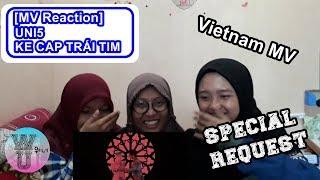 [MV REACTION - Special Request] UNI5 - KẺ CẮP TRÁI TIM [2nd Vpop Reaction] [ENG SUB]